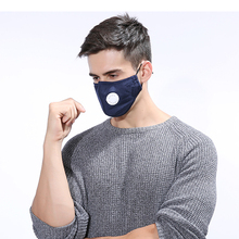 1 Pcs Black Fine Wool Protection Cotton Anti Dust Protective Double Mask ZAR4343
