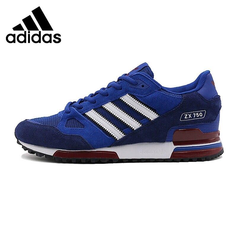 buy popular 9a32b 1b02b Dorigine nouveauté Adidas Originals ZX 750 Unisexe chaussures pour  skateboard Sneakers Sport En Plein
