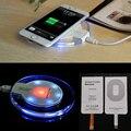 Qi de carregamento sem fio + kit receptor para apple iphone 5 5s 5c 6 6 s carregador sem fio pad para iphone 6 plus 6 s além de