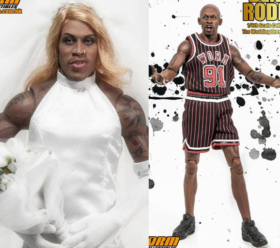 1/6 scale figure doll Dennis Rodman The Wedding Dress Special Edition .12 action figures doll.Collectible figure model toy gift a farewell to arms the special edition