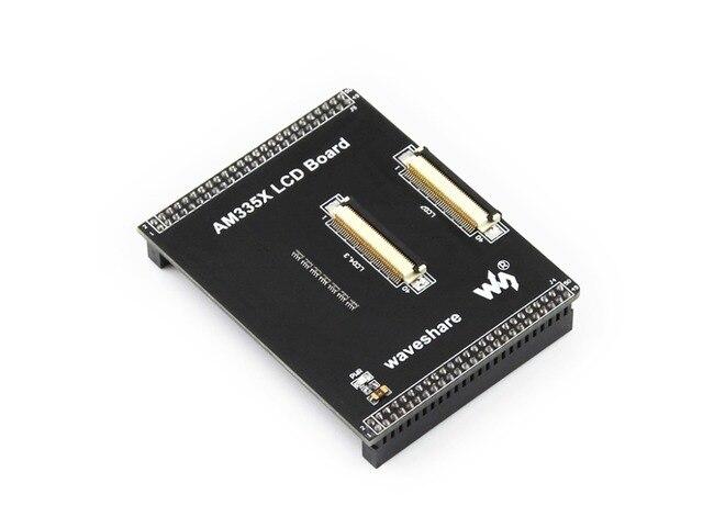 AM335X ЖК-Плата Предназначена для MarsBoard AM335X ЖК Интерфейсы Расширения, поддерживает 4.3 дюйма или 7 дюйма ЖК-Дисплей Бесплатная доставка