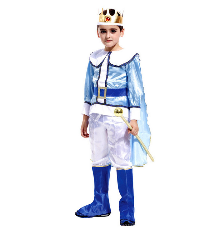 Newest 2018 Luxury King Cosplay Costume Boy Show ...