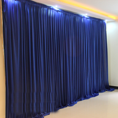 3x3m White Ivory Colors Ice Silk Wedding Backdrops Drapes
