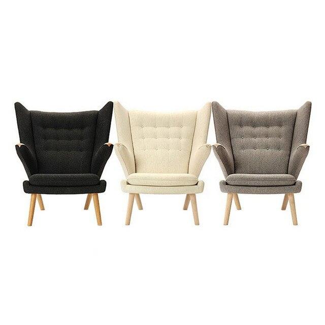 Hans Wegner Teddy Bear Chair Beanbag Chairs Chaise Lounge Khan Sen