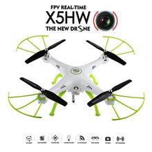 цена на Original SYMA X5HW FPV RC Quadcopter Drone with WIFI Camera 2.4G 6-Axis VS Syma X5SW Upgrade RC Helicopter RC Toys Drones