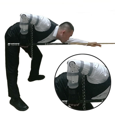 2018 New Arrival Cuppa Pool Snooker Training Cue Arm And Wrist Integrated Orthotics Appliance Billiard Accessories Made In China