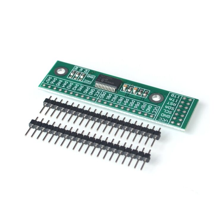 10 pièces/lot MCP23017 I2C Interface 16bit e/s Module dextension carte de broche IIC à GIPO convertisseur 25mA1 alimentation dentraînement pour Arduino