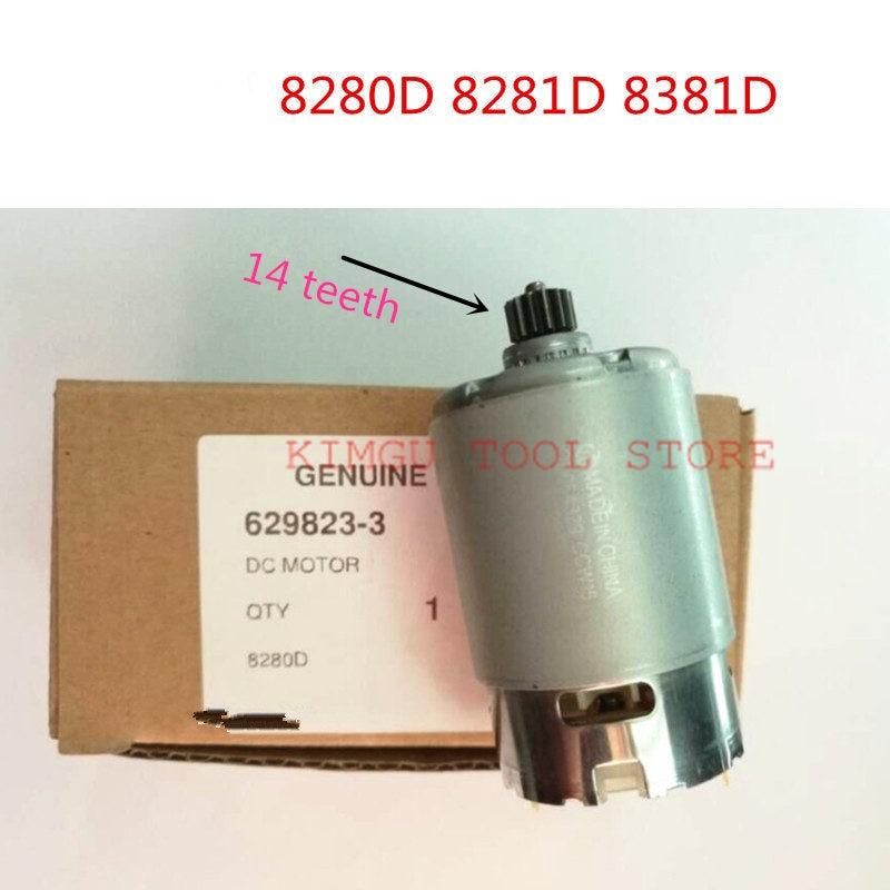 DC 14.4V Motor 629823-3 629822B5 For MAKITA 8280D 8281D BHP343 MT080 8381D 8280DWPE 8281DZ 8281DW Machine Motor