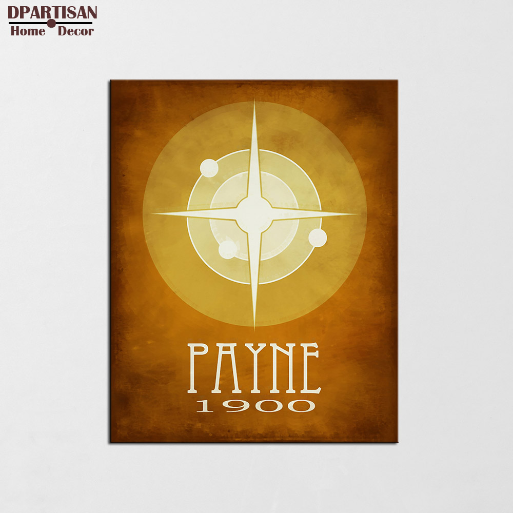 DPARTISAN Steampunk Posters And Prints Wall Art Canvas Painting Wall ...