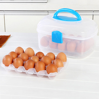 The National Post Double 30 Grid Earthquake Egg Fresh Storage Box Egg Duck S Eggs Storages
