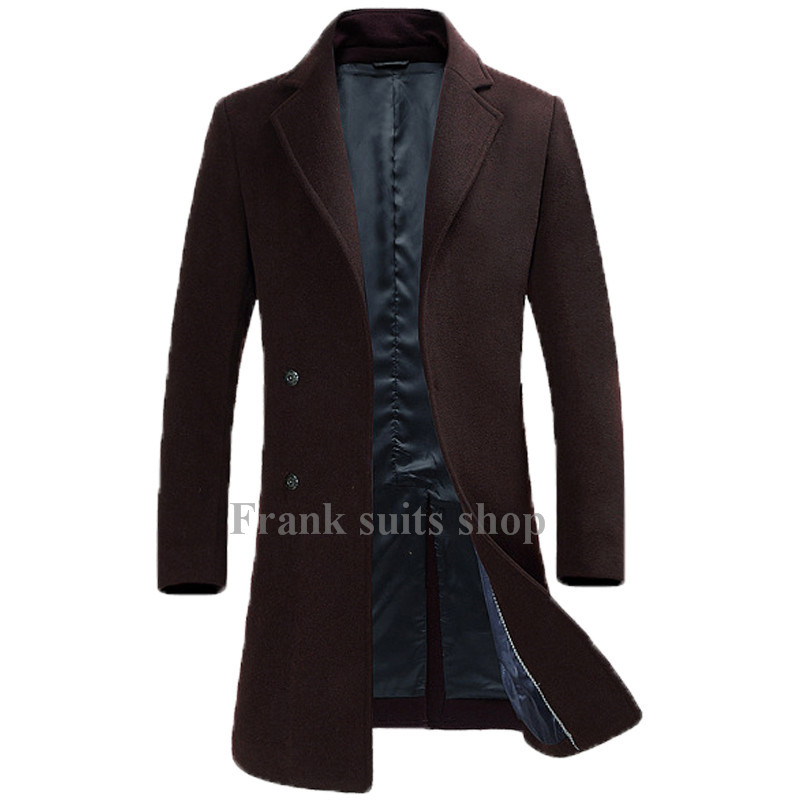 Popular Mens Brown Coats-Buy Cheap Mens Brown Coats lots from ...