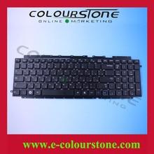 free shipping New Laptop Keyboard For Samsung RC710 Keyboard RU 9Z.N6ASN.10R Black