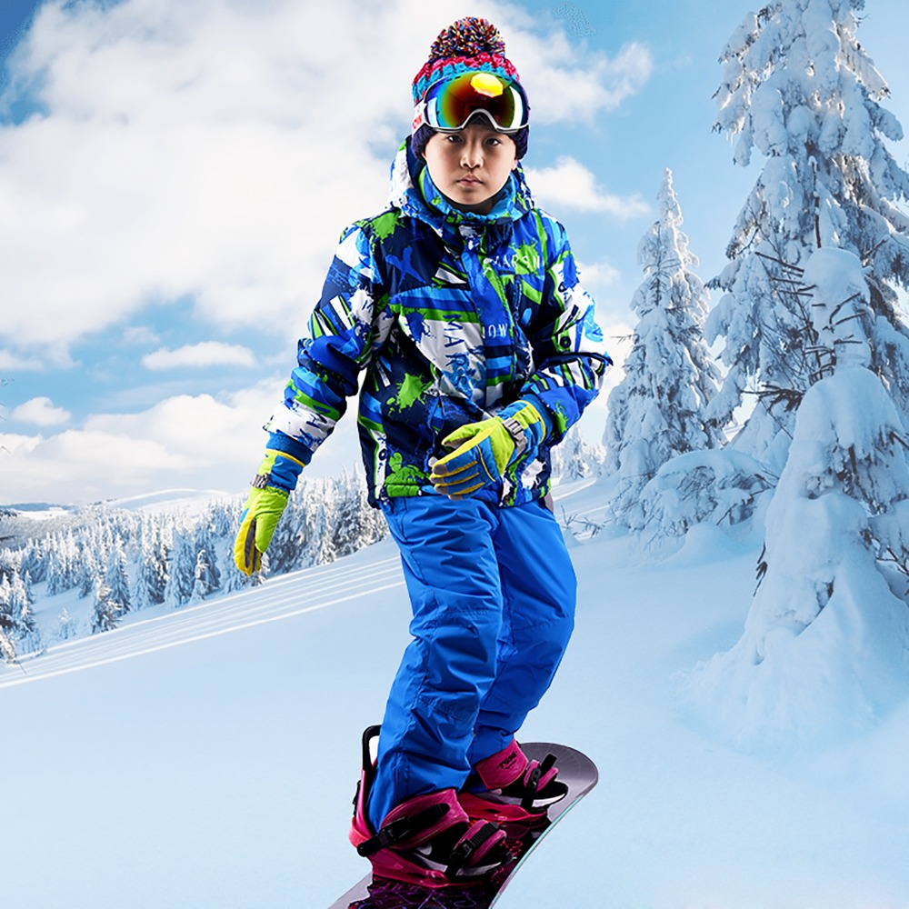 Goexplore Ski Suit For Girls 110-160 Baby kids Waterproof Windproof Warm Winter Jumpsuit Sport Snow Set Snowboarding Suits BoysGoexplore Ski Suit For Girls 110-160 Baby kids Waterproof Windproof Warm Winter Jumpsuit Sport Snow Set Snowboarding Suits Boys