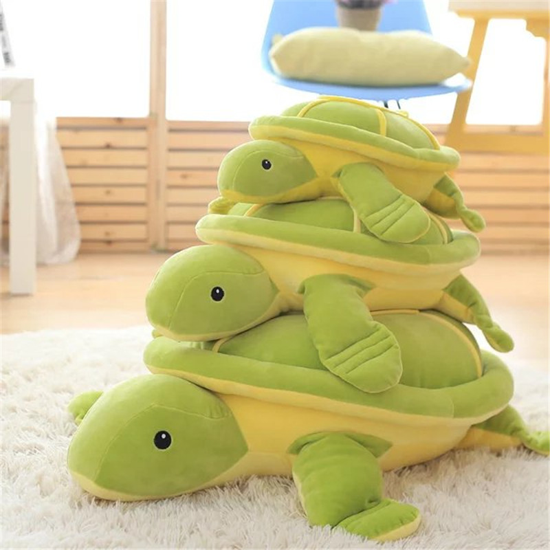 Christmas Gift Lovely Tortoise Hold pillow Cushion Bedroom Decoration Plush toy