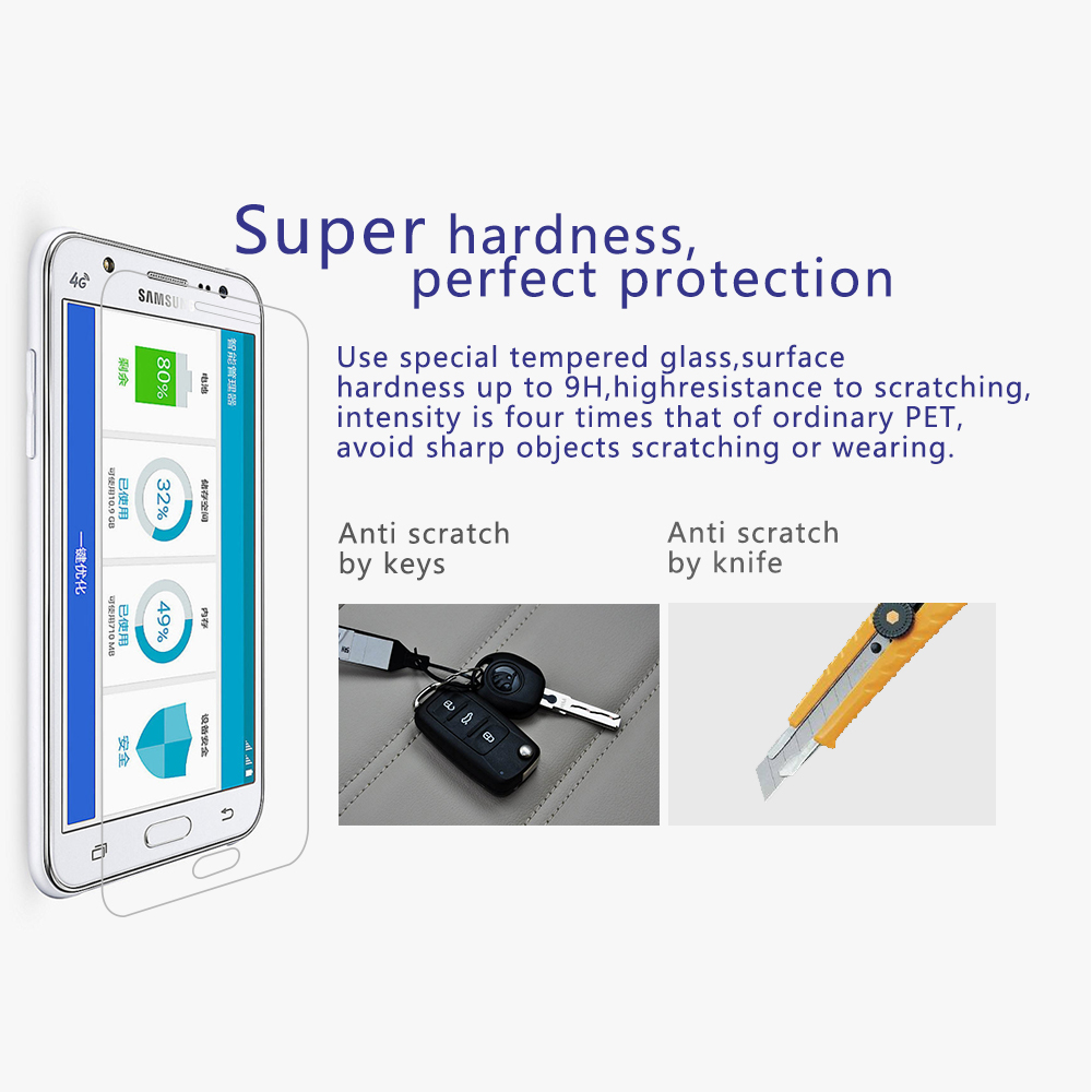03mm Tempered Glass For Samsung Galaxy J1 J 1 J100 Old Model 9h 25 4 Gb 25d Arc Edge High Transparent Screen Protector With Clean Tool In Phone Protectors