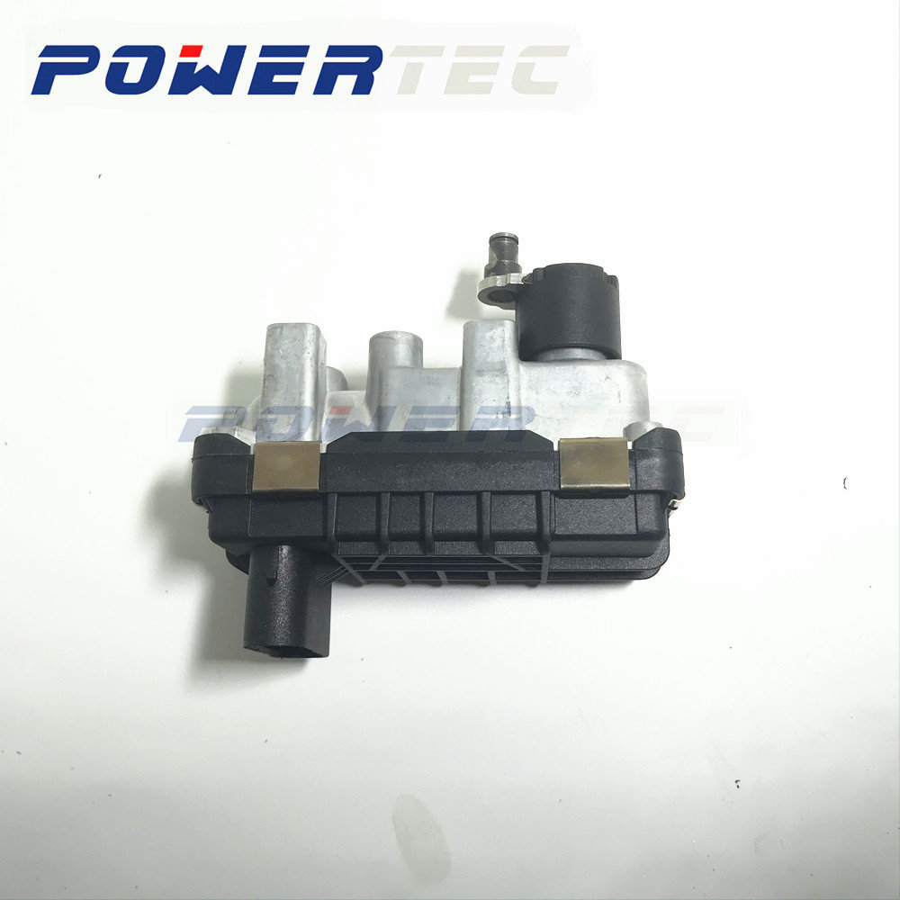 G-290 <font><b>GT1752V</b></font> 712120 Garrett NEW turbocharger electronic turbolader wastegate 762965 for BMW X3 2.0D E83 E83N 110Kw 150 HP M47TU image