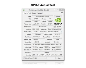 Image 5 - Scheda grafica GTX 950 2GB 2048MB DDR5 128Bit carte graphique Scheda Video per Nvidia GTX PC