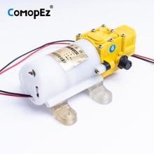 6L/Min DC 12V 3A Diaphragm Water Pump Small Safe High Pressure Self Priming 4200r/min 0.8Mpa