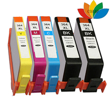 5 Chipped INK CARTRIDGES FOR Compatible HP 364 XL HP Photosmart Premium C309n, C309g, C310a, Fax C309a, C410b, Printer