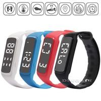 GZDL Sport Smart Watch LED Children Band Pedometer Kids Temperature Fitness Monitor Digital Wristband Boy Girl Bracelet WT8126