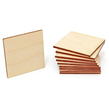 10 X 5mm Mdf 5cm Wooden Bow tie Crafting Projects Art Supplies