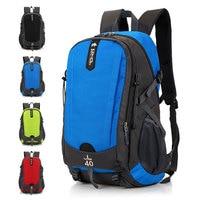 HIGHSEE 40L Climbing Bags Sport Camping Backpack Outdoor Waterproof Nylon Hiking Backpack Capacity Travel Bag Mountain Rucksack