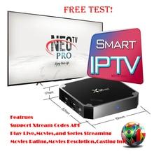 Android tv box X96 MINI NeoPro Iptv subscription french italian Neo pro spanish Europe portugal albania Ex-yu polish iptv code
