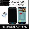 100% Оригинал ДИСПЛЕЙ для Samsung Galaxy Ace 4 SM-G357 G357 G357FZ ЖК-Дисплей с Сенсорным Экраном Дигитайзер Ассамблеи Замена