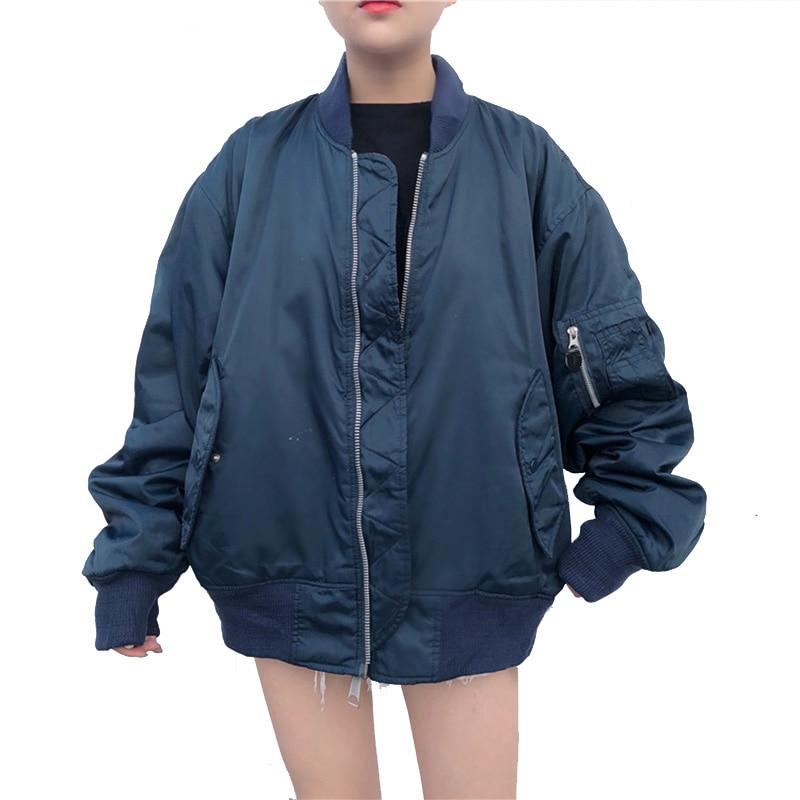 Europe 2018 Winter Thick Warm   Parka   Loose Oversize Bomber Jacket women Winter Female Jacket Winter Plus Size jacket coat female