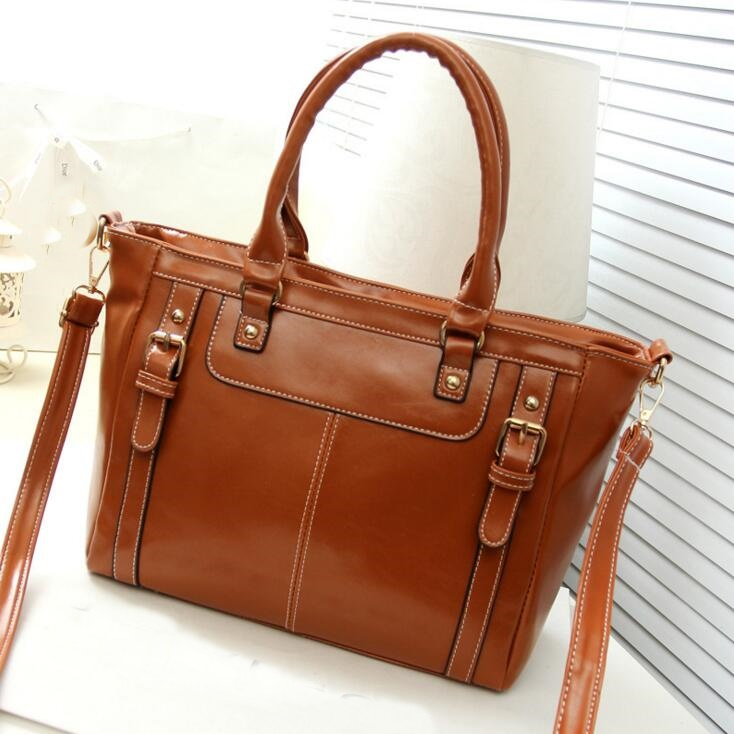 Popular Ladies Leather Briefcase-Buy Cheap Ladies Leather ...