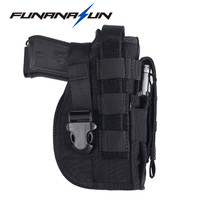 Tactical Gun Holster Molle Modular Pistol Holster For Right Handed Shooters 1911 45 92 96