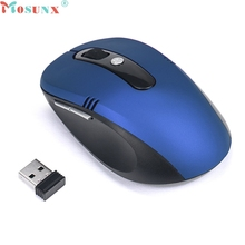 mosunx Five Colors 2.4GHz Wireless Mouse USB Optical Scroll Mice for Tablet Laptop