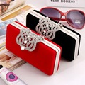 FLOWER Pattern Woman Package European Evening Hand Take Package High File Down Package 929 Diamond Shell Package Mini-