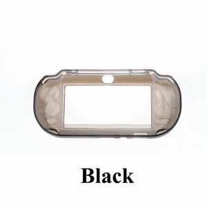 Image 5 - YuXi שקוף ברור מקרה קשה מגן כיסוי מעטפת עור עבור Sony פלייסטיישן Psvita PS Vita PSV 1000 קריסטל גוף מגן