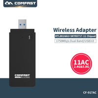 COMFAST Usb Wifi Adapter 1750mbps Dual Band Wi Fi Dongle Computer AC Network Card USB 3