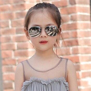 657bafa6f3 ZXWLYXGC 2018 gafas de sol bonitas para niños de aleación para niñas  modernas gafas de sol