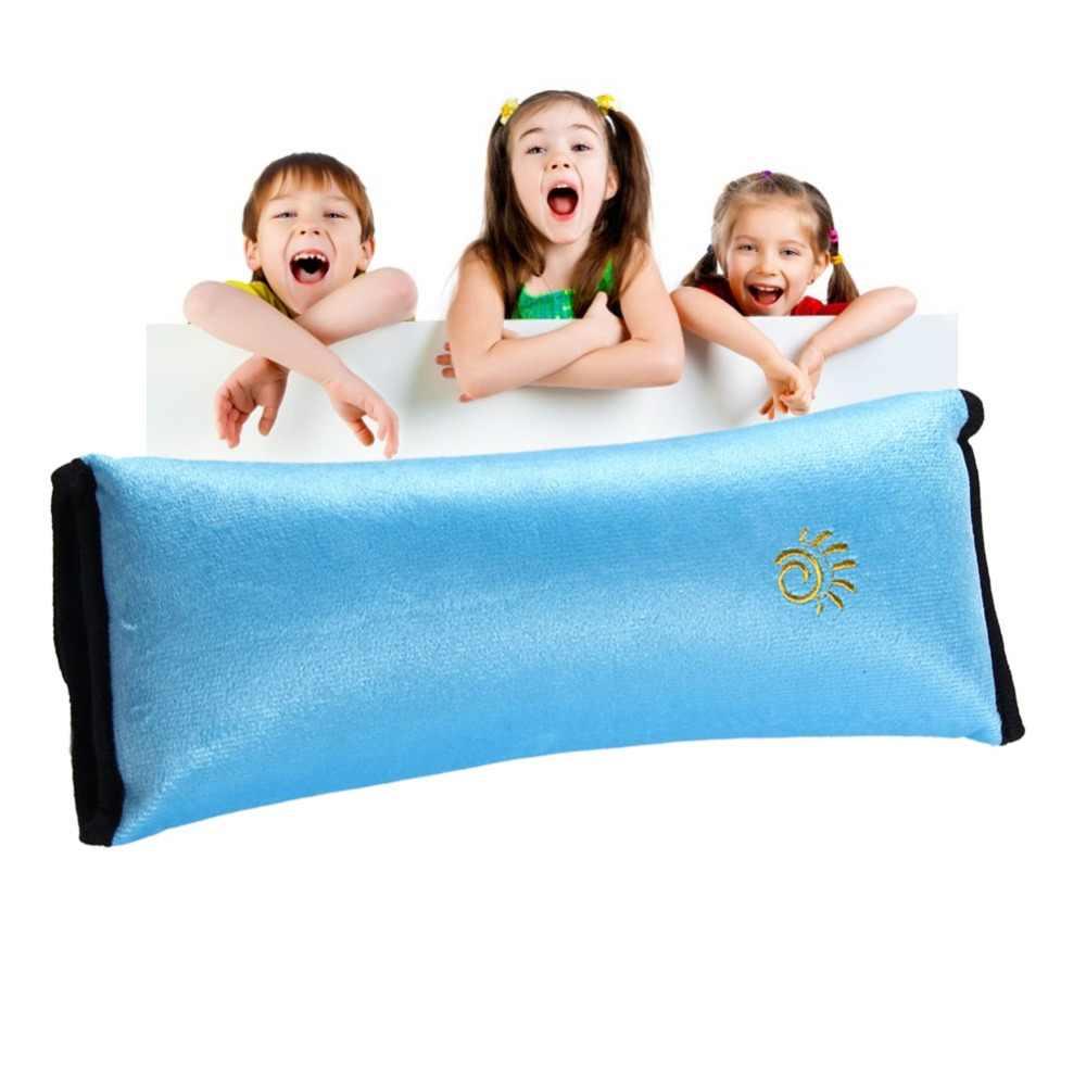 1 sztuk dla dzieci/dziecko samochód miękki zagłówek dla dzieci pojazd bezpieczeństwa pasy bezpieczeństwa poduszki pasek miękki poduszka na ramię poduszka na szyję