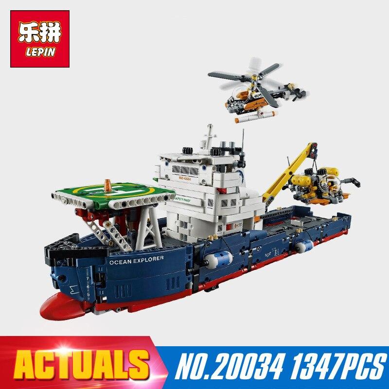 ФОТО New Lepin 20034 1347pcs Technic Series Search the ship Building Blocks Bricks Educational Toys