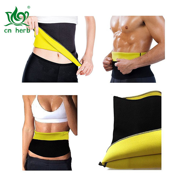 Cn Herb Unisex Hot Neoprene Waist Slimming Fitness Belt By Jern (sport, Shapewear, Tummy Trimmer Girdle)
