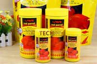 Гранулы для пищевых продуктов с красным попугаем, 250 мл/1000 мл/1 кг, 2 мм/4 мм, плавающие на воде, 100% оригинал, немецкая Рыбка, питание для аквариу...