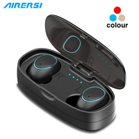Newest TWS Wireless earphone Invisible sports Headphones True 3D Stereo Earbud Mini Bluetooth Headset with mic for iphone huawei