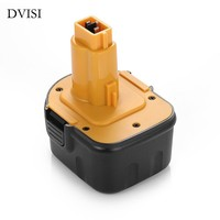 2500 MAh 12V Ni MH Power Tool Battery For Dewalt 152250 27 397745 01 DC9071 DE9037