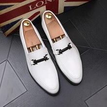 Мужские лоферы; обувь из натуральной кожи; уличная модная обувь для вождения; деловые лоферы; мокасины; мужские слипоны на плоской подошве; обувь для мужчин