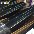 "50cmx152cm 60""x24"" Car Styling 5D High Glossy Film Auto Exterior Carbon Fiber Accessories Interior Wrap Film Black Car Sticker"