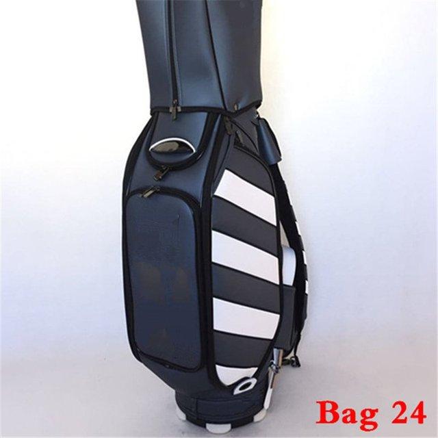 Men Golf Bag Stand Pouch Ball Clubs Travel Putter Driver Fairway Irons