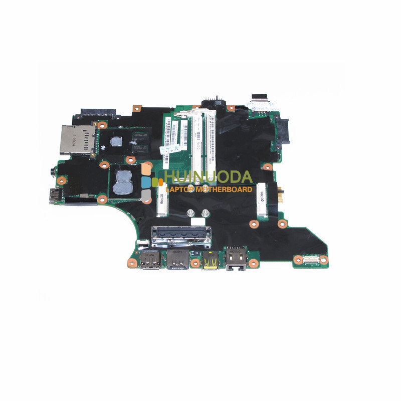 все цены на  NOKOTION FRU 04W1905 Laptop motherboard For lenovo thinkpad T410I I5-540M CPU onboard NVS 3100M Mainboard  онлайн