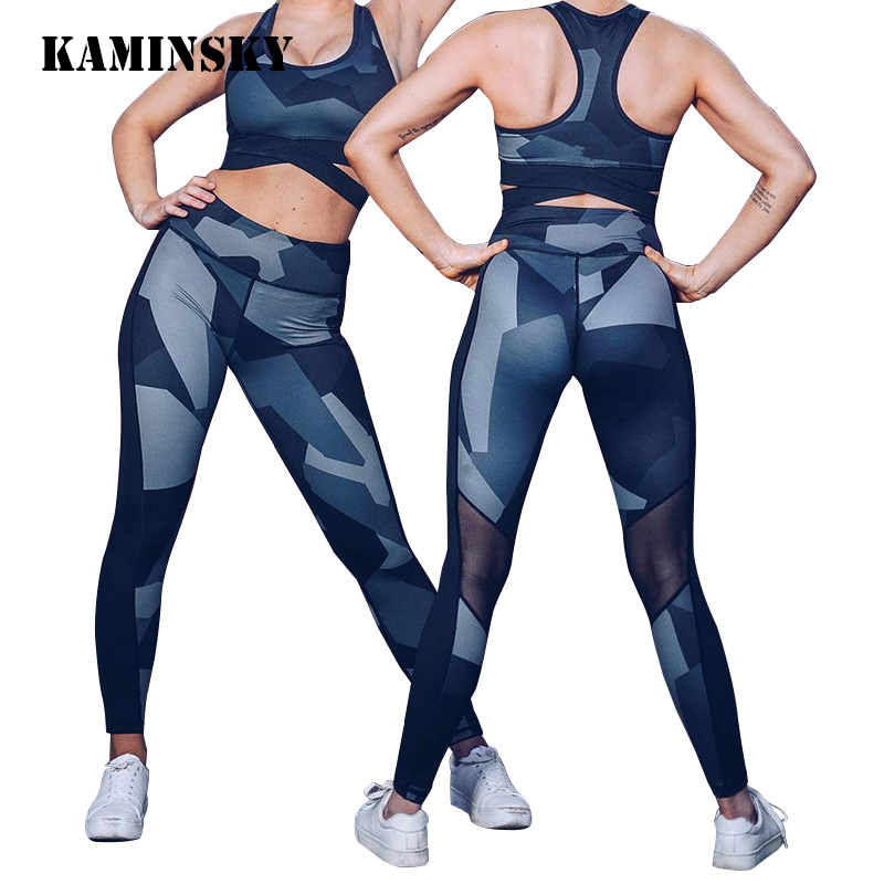 Sexy Ladies Mesh   Leggings   Women Push Up Leggins High Waist Patchwork Slim Pants Long Trousers Sporting Women Fitness   Legging