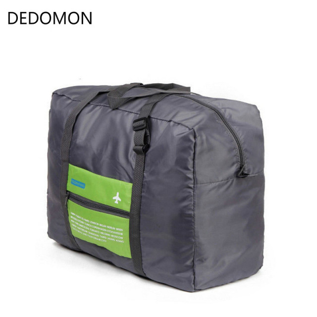 b7fbda396f16 Men WaterProof Travel Bag For Suit Nylon Large Capacity Women Bag Foldable Travel  Bags Hand Luggage