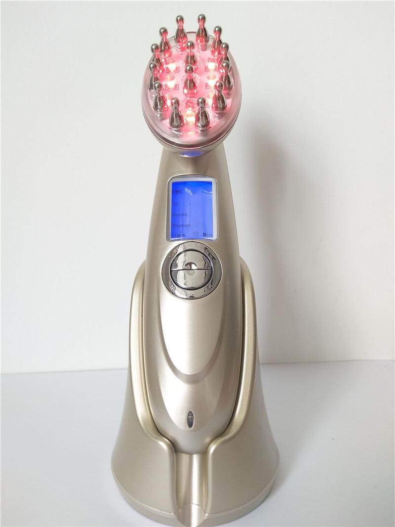 Pettine del Laser, la terapia magnetica di massaggio pettine anti-perdita di capelli, massaggio del cuoio capelluto e la cura della salutePettine del Laser, la terapia magnetica di massaggio pettine anti-perdita di capelli, massaggio del cuoio capelluto e la cura della salute