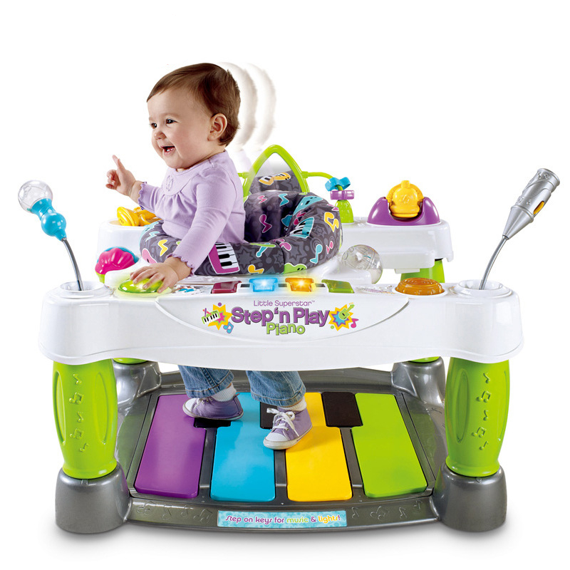 Baby Throne Little SuperStar Step Play Piano Baby Walker ...